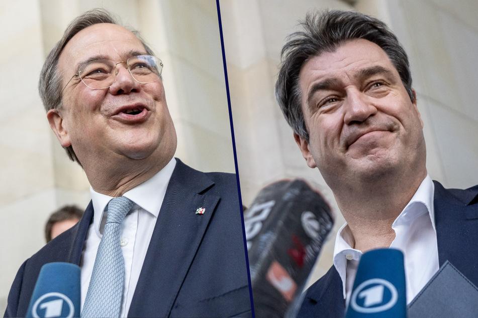 Laschet und Söder wollen Kanzlerkandidatur noch diese Woche klären