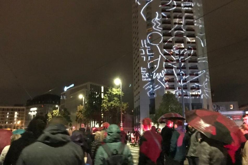 Leipzig hat am Mittwoch den 30. Jahrestag der Friedlichen Revolution gefeiert.