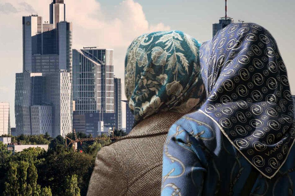 Das Kopftuch muslimischer Frauen wird aus westlicher Sicht oft als Symbol der Unterdrückung angesehen.