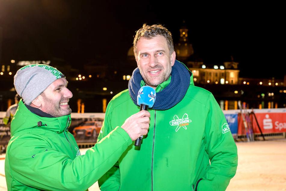 Beim Dresdner Ski-Weltcup war Rene Kindermann als Organisator sehr gefragt.