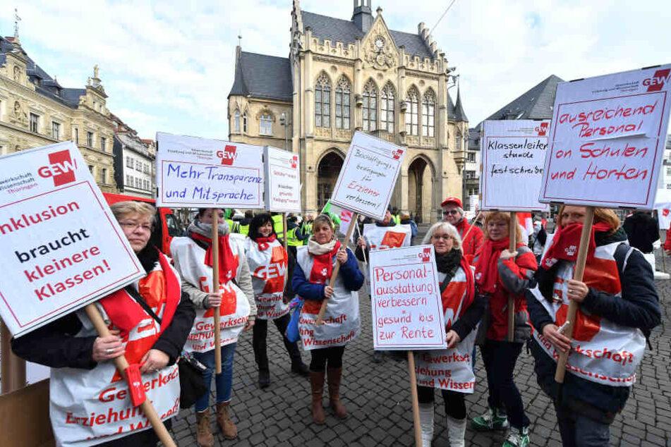 Ab 09.00 Uhr streikt in Jena der öffentliche Dienst (Archivfoto).