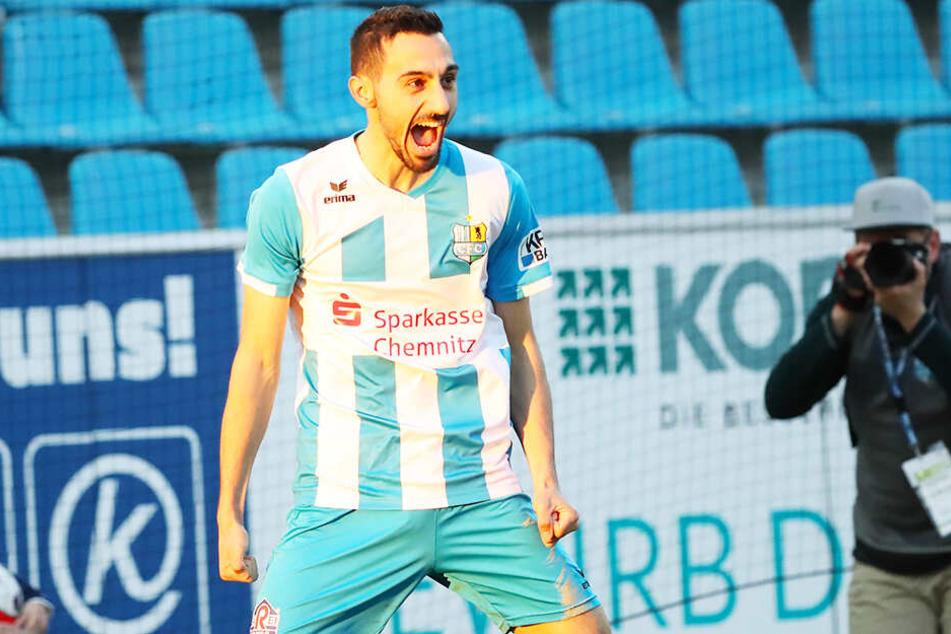 Während Jakub Jakubov hinten alles hielt, sorgte Rafael Garcia vorne für das goldene Tor.