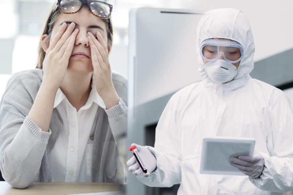 Auffällig hohe Suchanfragen: Bekommt man durch Corona Augenschmerzen?