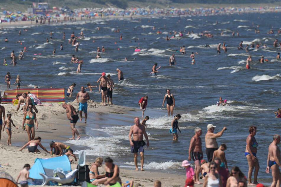 Mann aus Sachsen stirbt beim Baden in der Ostsee