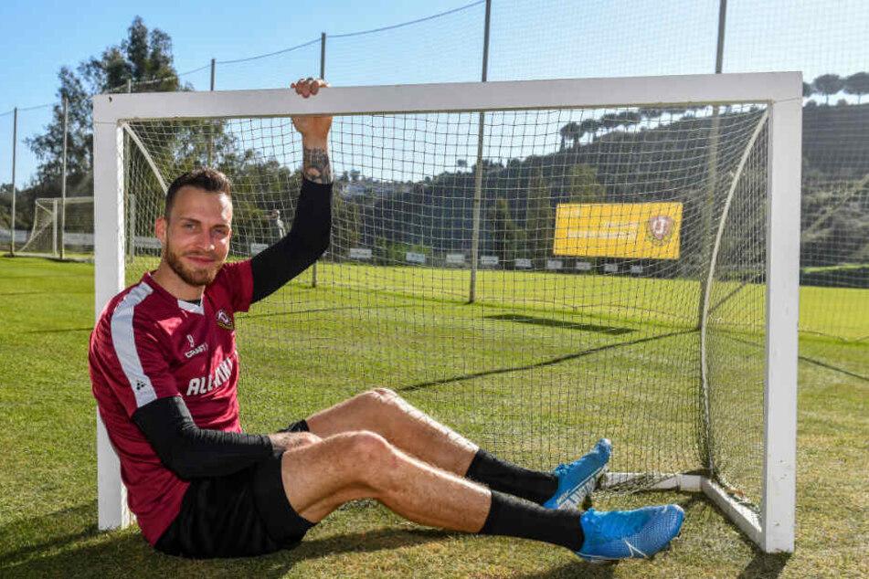 Patrick Schmidt will bei Dynamo auf Torejagd gehen - und die sind in der 2. Liga ein bisschen größer...