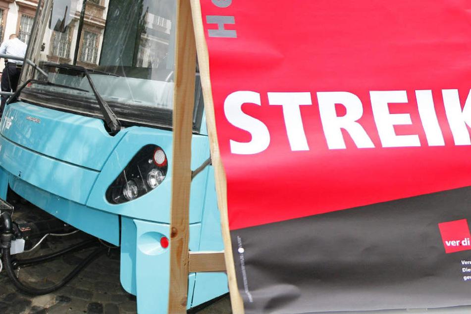 U-Bahnen und Straßenbahnen werden von dem Streik betroffen sein (Symbolbild).