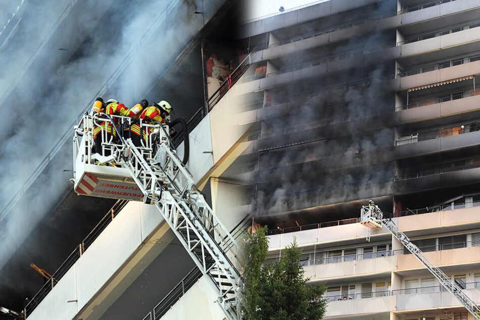 Bei dem verheerenden Wohnungsbrand kamen zwei Menschen ums Leben, elf sind verletzt.