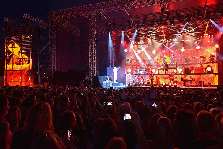 Rapper Cro begeisterte letzten Freitag (26.8.)!