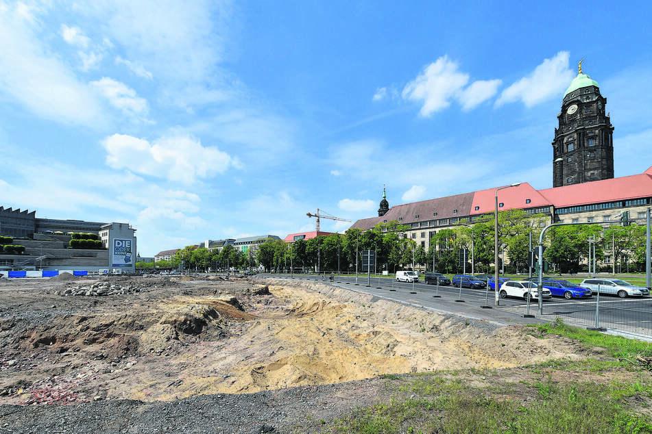 Vor der Neubebauung: Archäologen auf Schatzsuche unterm Ferdinandplatz