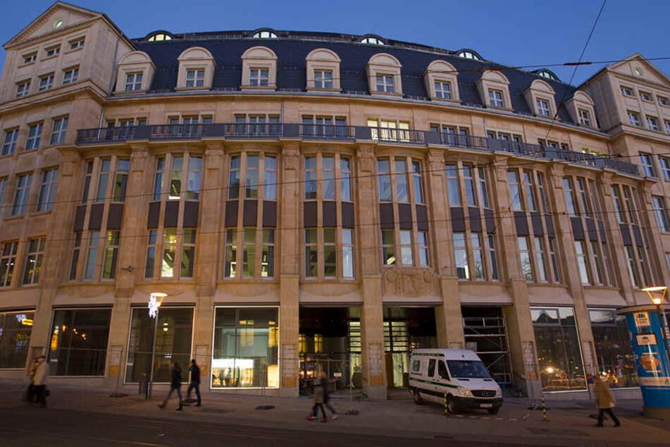 In das Landratsamt in Plauen wurde eingebrochen.