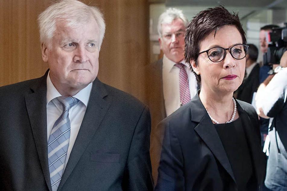 Horst Seehofer hat Jutta Cordt, die Präsidentin des Bundesamts für Migration und Flüchtlinge (Bamf) entlassen.