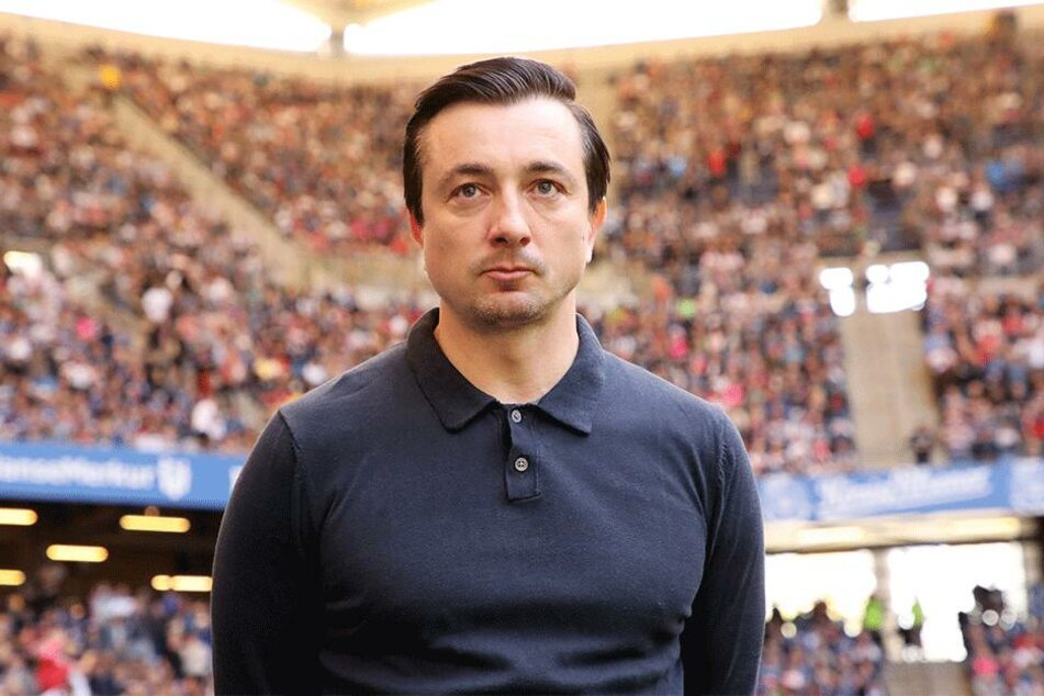 """Trainer Daniel Meyer fand es einfach """"bockstark""""."""