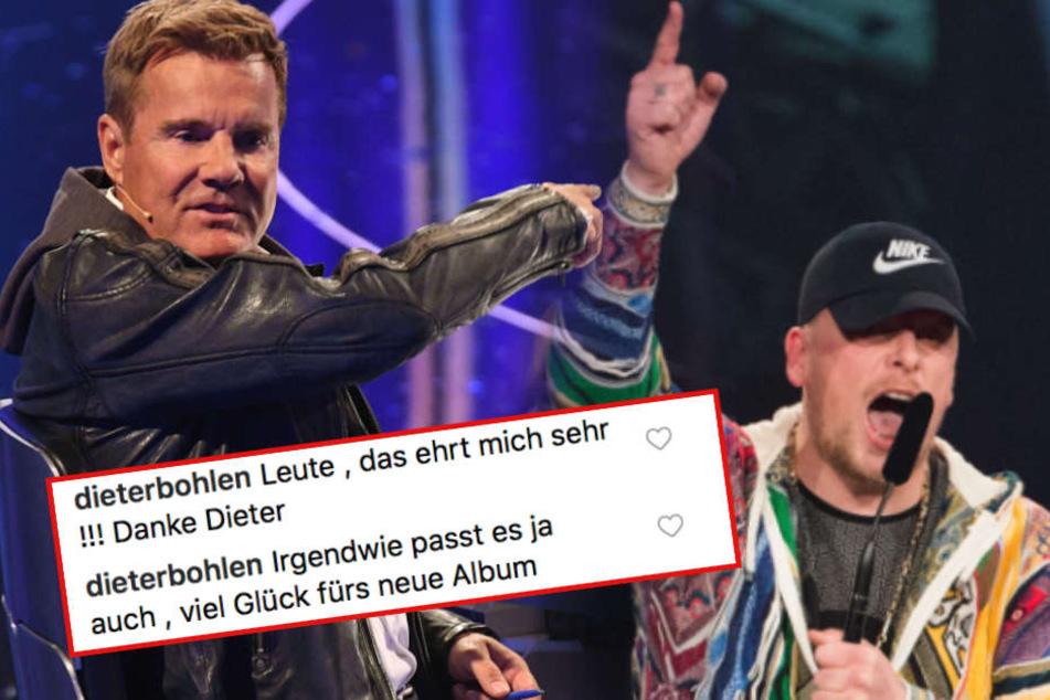 Dieter Bohlen feat. Bonez MC? Das wäre zumindest eine Sensation.
