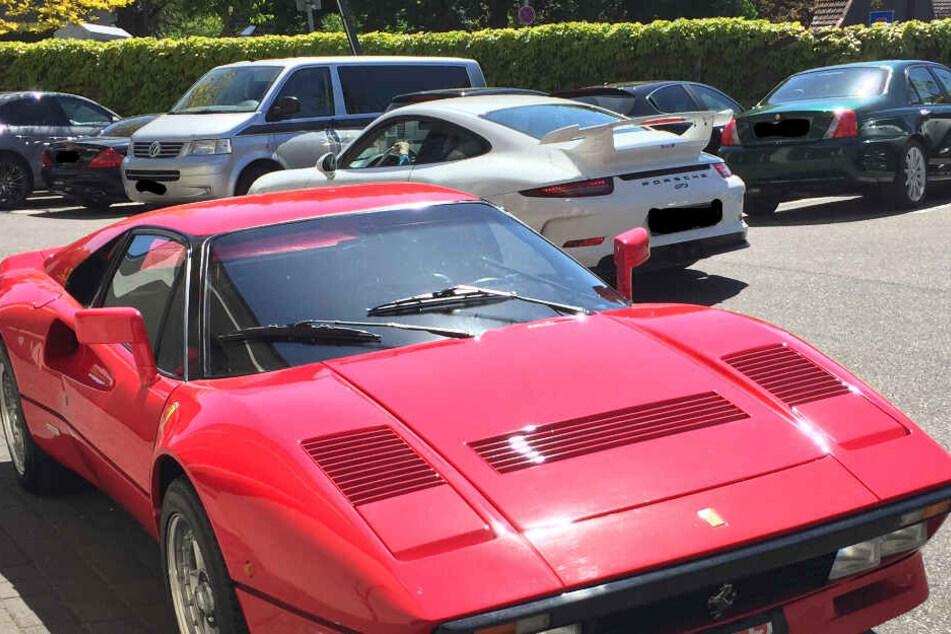 Diesen seltenen Ferrari hatte der Franzose geklaut.