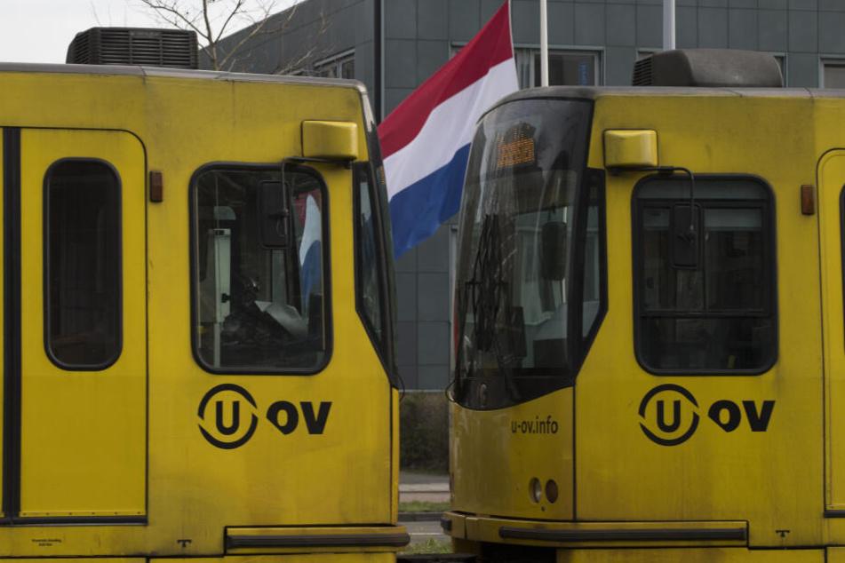 Die tödlichen Schüsse ereigneten sich in einer Straßenbahn in Utrecht.