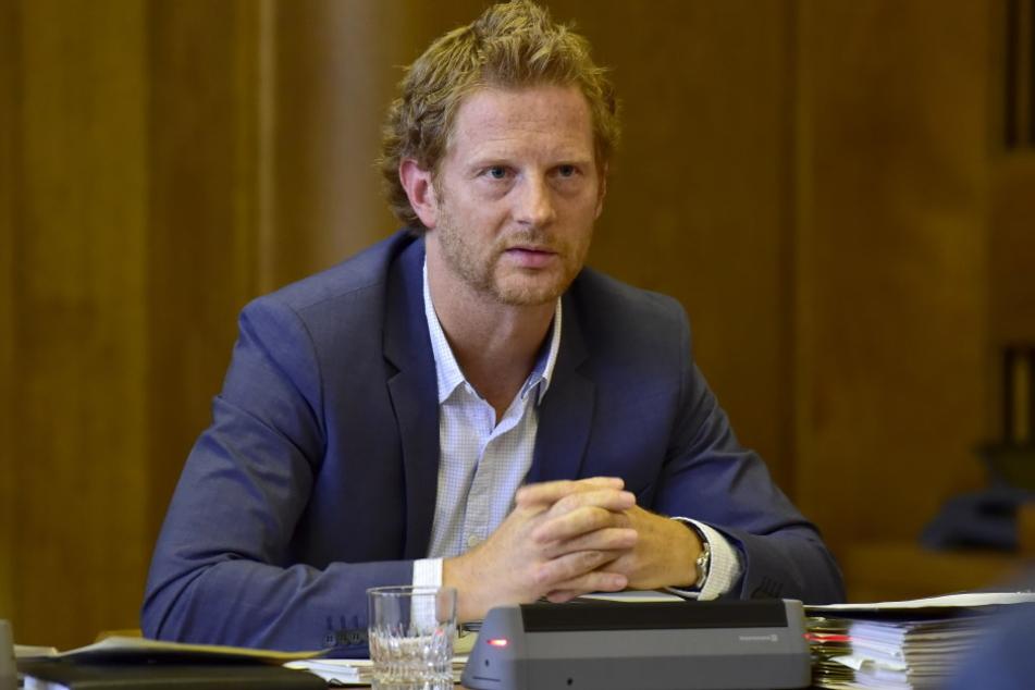Baubürgermeister Michael Stötzer (44, Grüne) will, dass Pendler künftig fürs  Parken zahlen.