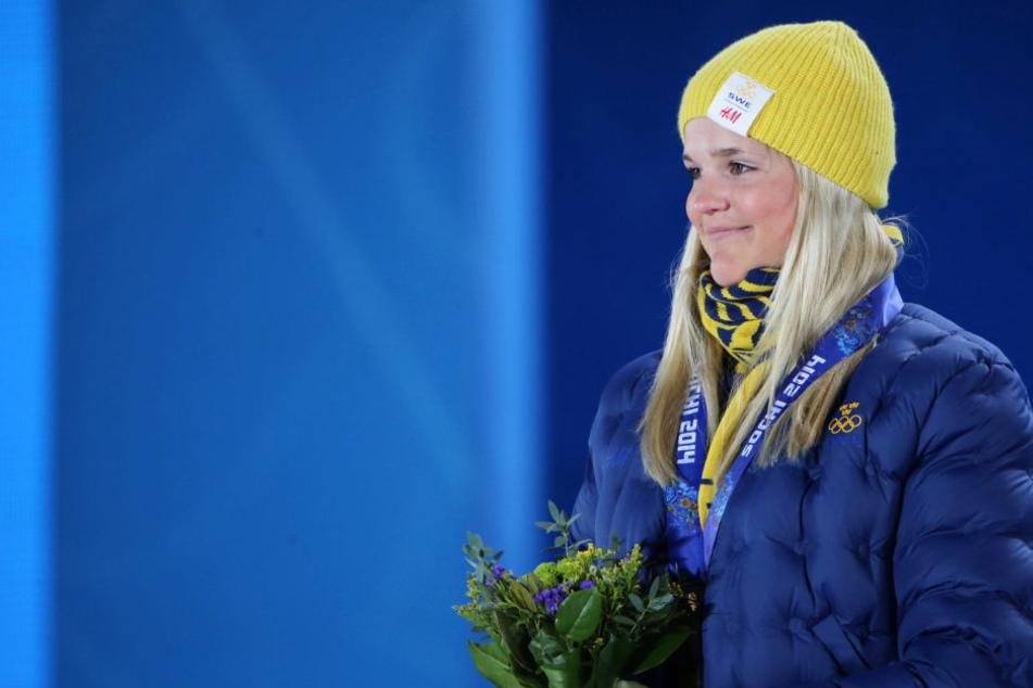 Bei der Winterolympiade 2014 in Sotschi wurde Skicrosserin Anna Holmlund (29) Dritte. Jetzt liegt sie nach einem schweren Trainingssturz im Koma.