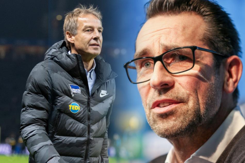 """Michael Preetz (52) spricht im Podcast der """"Bild""""-Zeitung ausführlich über den Abgang von Jürgen Klinsmann."""