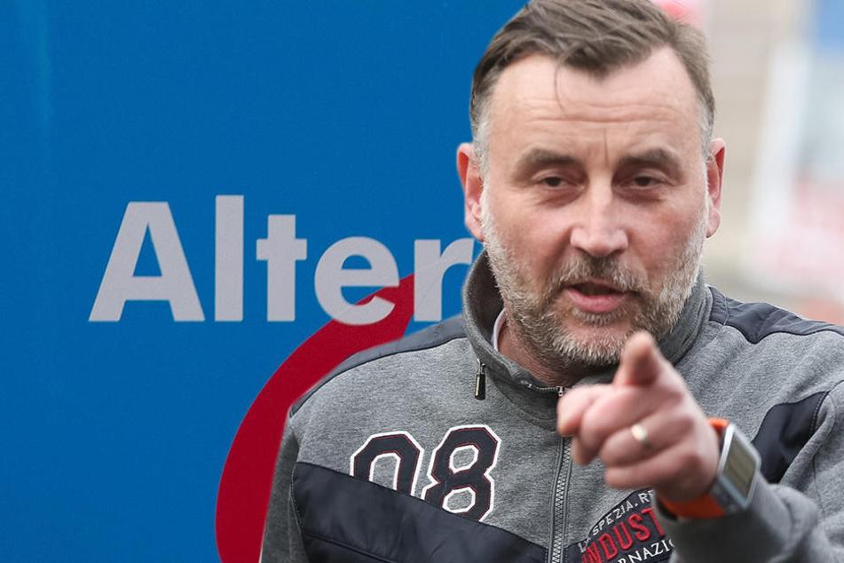 Lutz Bachmann im Fokus Die AfD solle PEGIDA-Vertretern auf ihren Veranstaltungen keine Bühne bieten