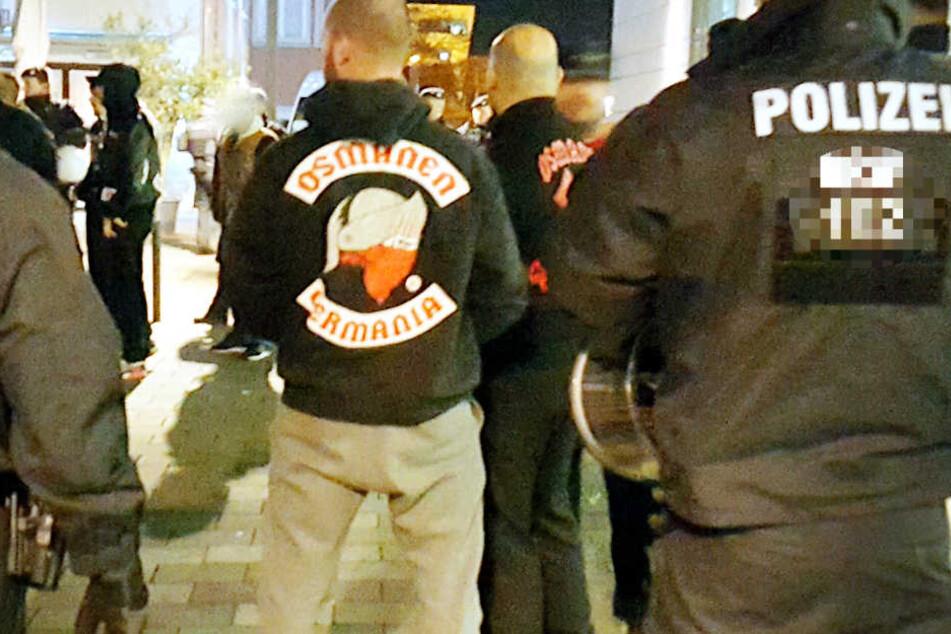 """Die Polizei hatte die """"Osmanen Germania"""" schon seit längerem im Visier (Archivbild)."""