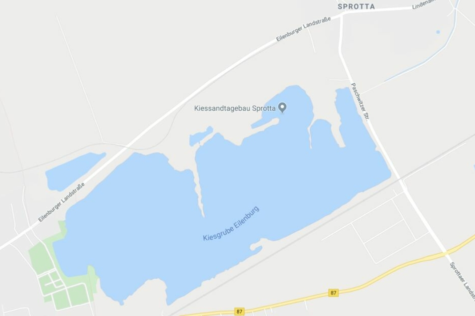 Der Unfall ereignete sich auf der Eilenburger Landstraße auf Höhe der Kiesgrube.