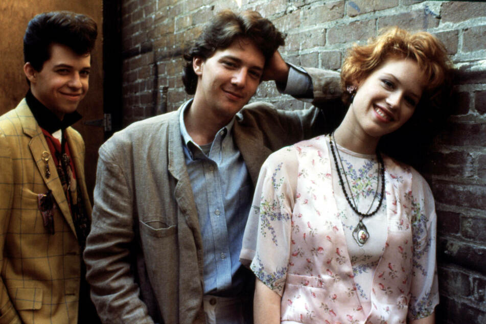 Pretty in Pink (1986) is celebrating its 35th anniversary this February (archive image).