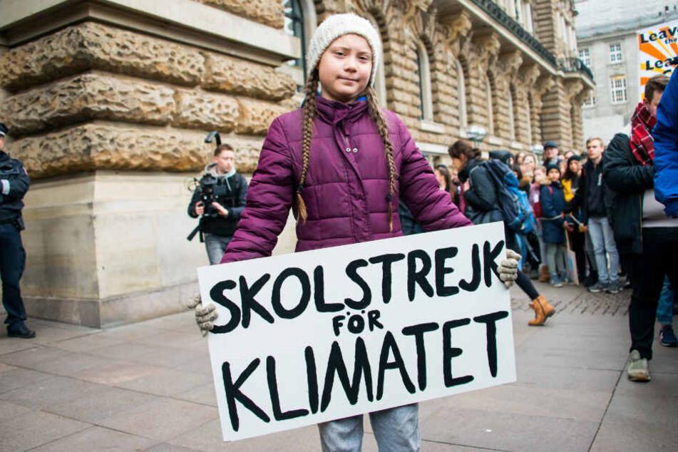 Anfang März kam Greta Thunberg (16) nach Hamburg und nahm an einer Fridays for Future-Demonstration teil.