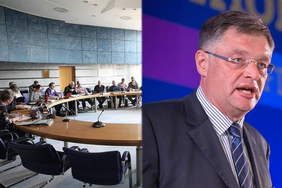 Weniger Stadträte für die Ausschüsse? FDP-Chef Zastrow scheitert mit Antrag