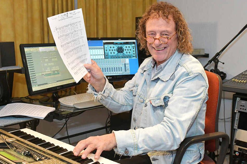 Helmar Federowski (72) war einst Tonmeister bei Amiga und an den großen Hits von Puhdys, Karat und Silly beteiligt.