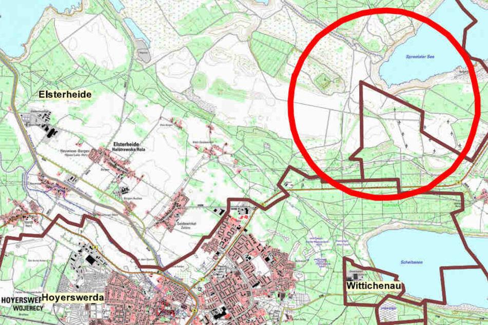 Das Landratsamt Bautzen hat wegen der Bienenpest diesen Sperrbezirk ausgerufen.