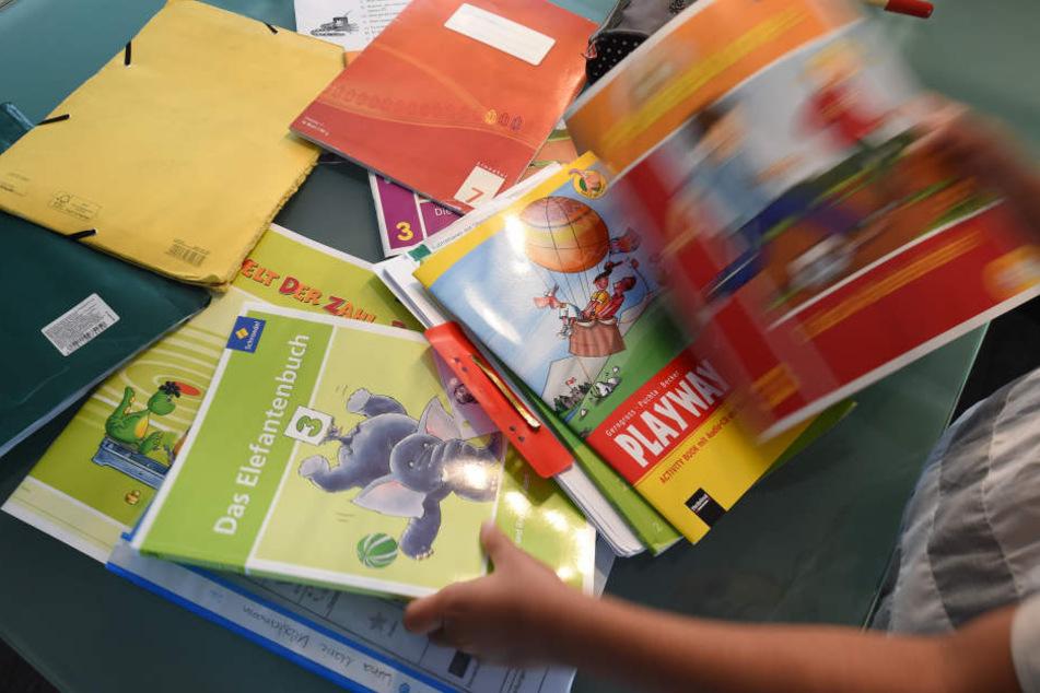 Schulbücher werden kostenfrei zur Verfügung gestellt oder müssen in manchen Bundesländer von den Eltern bezahlt werden. (Symbolbild)