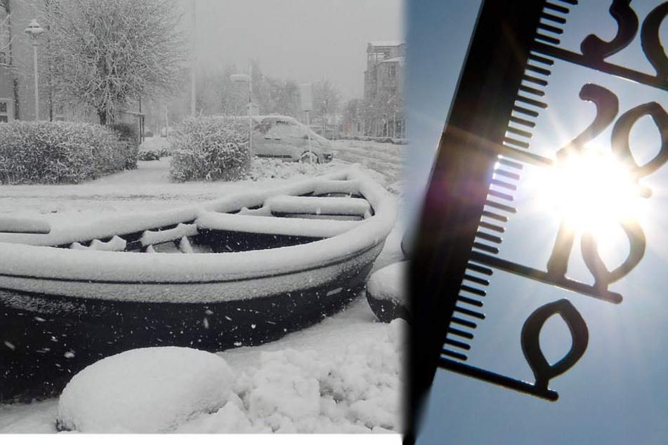 Zwischen Winter-Chaos und 20 Grad liegen nur wenige Tage.