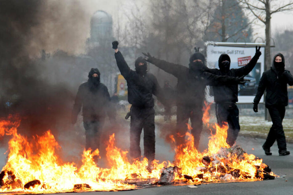 Linksradikale Gewalt bleibt in Baden-Württemberg auf hohem Niveau. (Symbolbild)