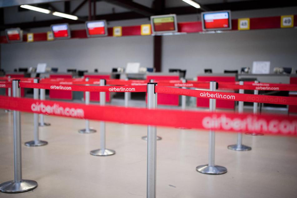 Rund 1400 Air-Berlin-Mitarbeiter sollen Ende Oktober ihren Job verlieren.