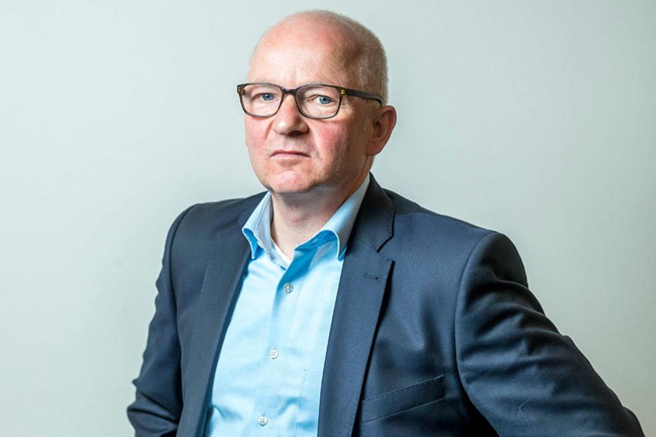 Dresdens Citymanager Jürgen Wolf (54) hofft auf eine baldige Entscheidung.