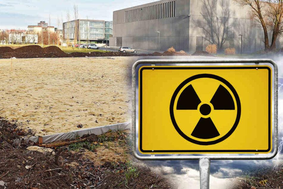 Dresden: Uran-Alarm in Dresden: Neuer Südpark strahlt, Prüfwert zigfach überschritten