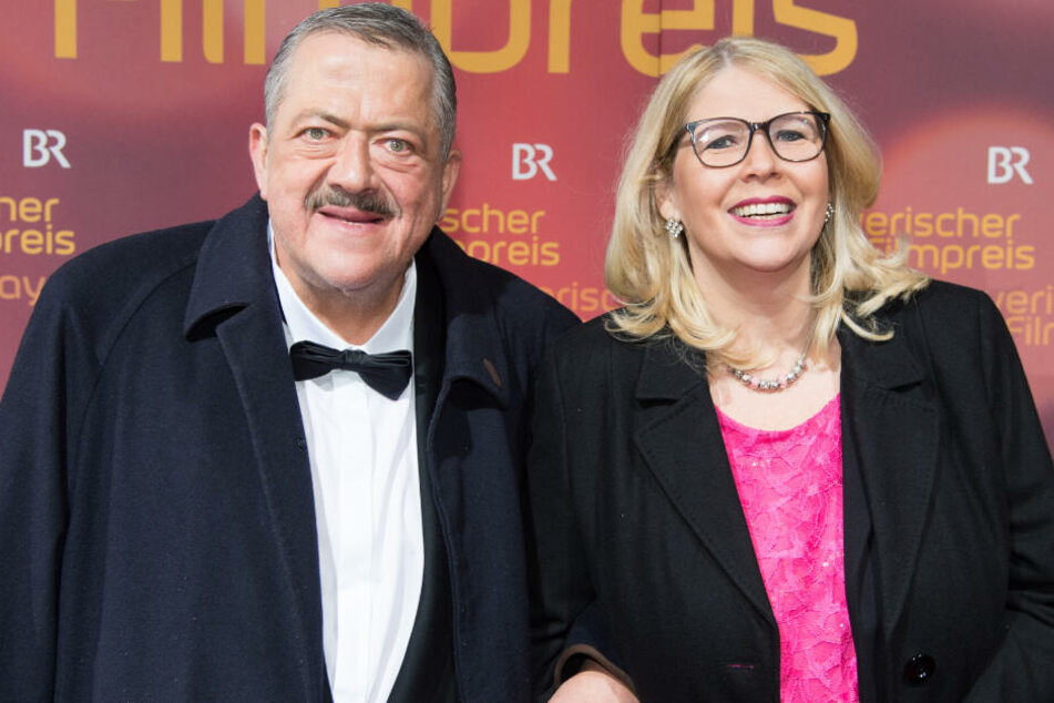Joseph Hannesschläger besuchte Anfang 2019 mit seiner Ehefrau noch Verleihung des Bayerischen Filmpreises im Prinzregententheater. (Archivbild)