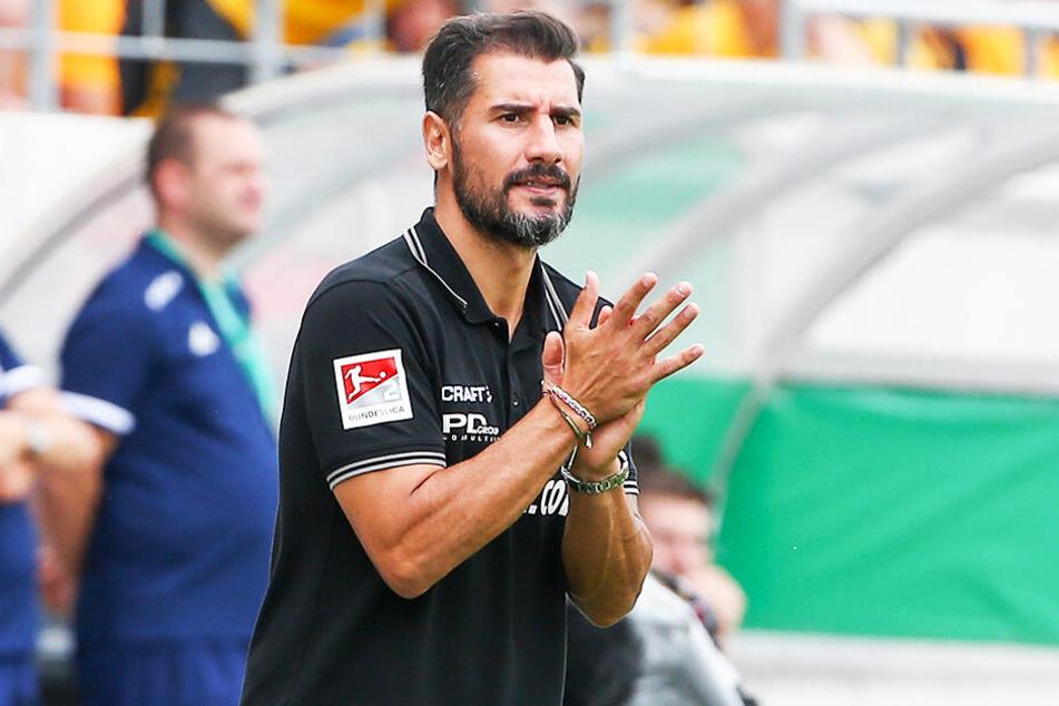Dynamo zog mit Coach Cristian Fiel dank eines 3:0-Siegs gegen TuS Dassendorf in die zweite DFB-Pokal-Runde ein.
