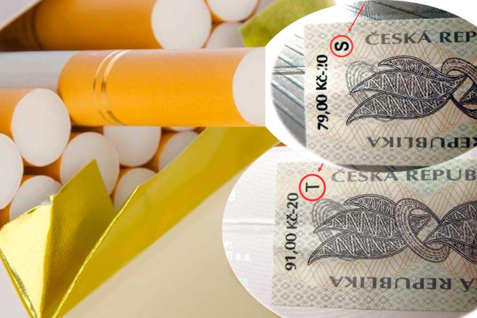 Tschechei Zigaretten