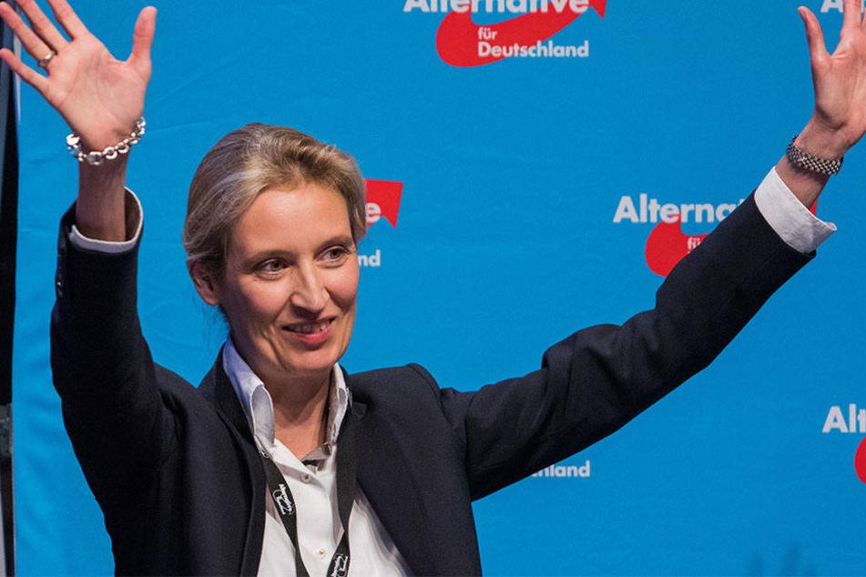 Zusammen mit Gauland bildet Alice Weidel das AfD-Spitzenduo.