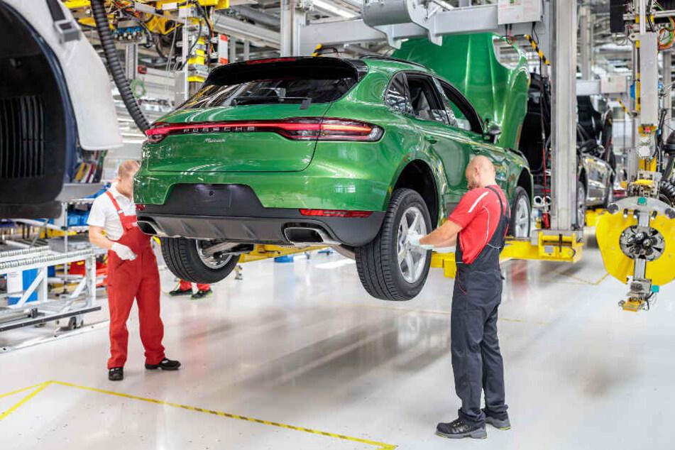 Im August 2018 lief der erste Porsche Macan vom Band im Leipziger Werk.