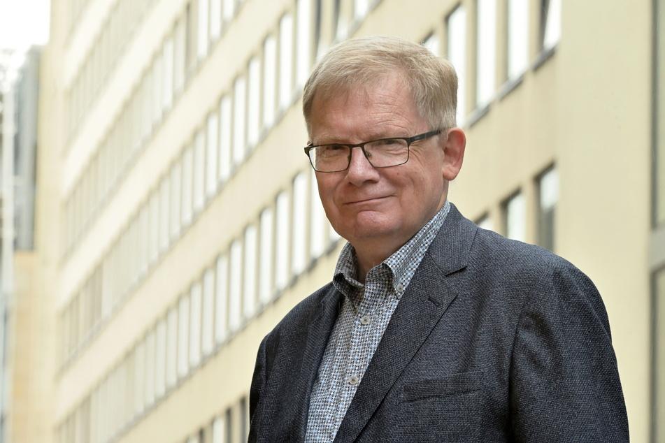 Linken-Stadtrat Dietmar Berger (70).