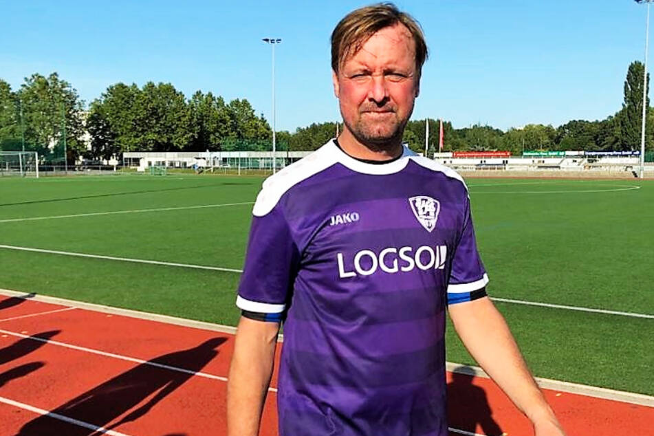 Mit 46 Jahren ist Stefan Bohne immer noch am Ball - erfolgreich für die Copitz-Dritte.