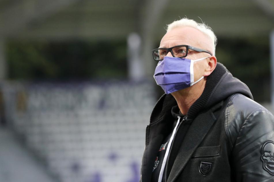 Nach jedem Geisterspiel muss FCE-Geschäftsführer Michael Voigt ein Minus von 150000 Euro verbuchen. Noch mehr Sorgen bereitet ihm aber die Zukunft des Nachwuchses angesichts des neuen Lockdowns.