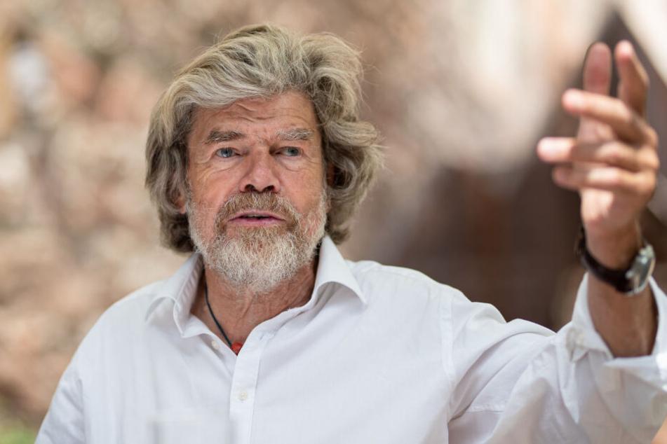 Der ehemalige Extrembergsteiger Reinhold Messner wird am 17.09.2019 75 Jahre alt.