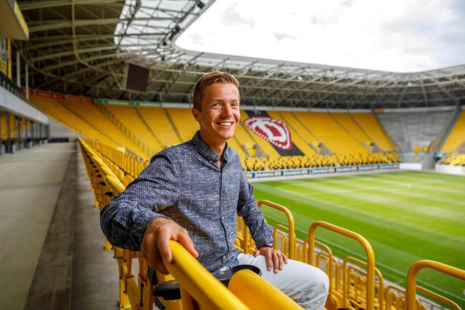 Reinhardt Schmidt (32) rief den Firmenlauf 2009 ins Leben.