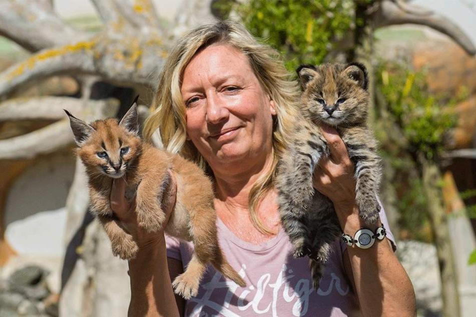 Zoo der Minis-Chefin Bärbel Schroller (50) hält Supermarkt-Küken für möglich.
