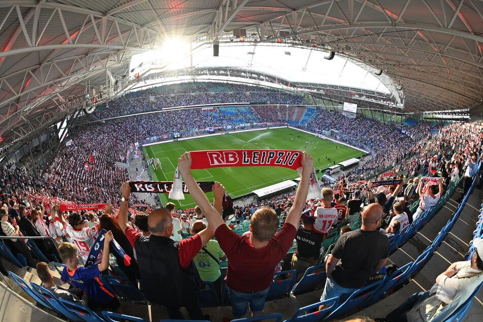 Am Samstag dürfen zum RB Leipzig-Spiel wieder mehr Zuschauer ins Stadion gelassen werden.