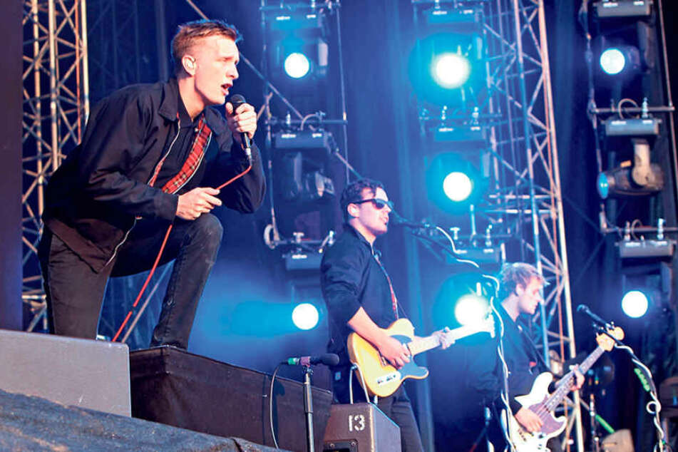 Neue Single, neues Album: Kraftklub wollen wieder in die Charts.