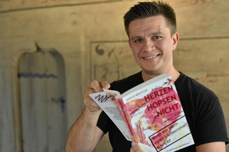 Marcus Wächtler (37) begeistert seine Leser mit Geschichten, die in Sachsen spielen.